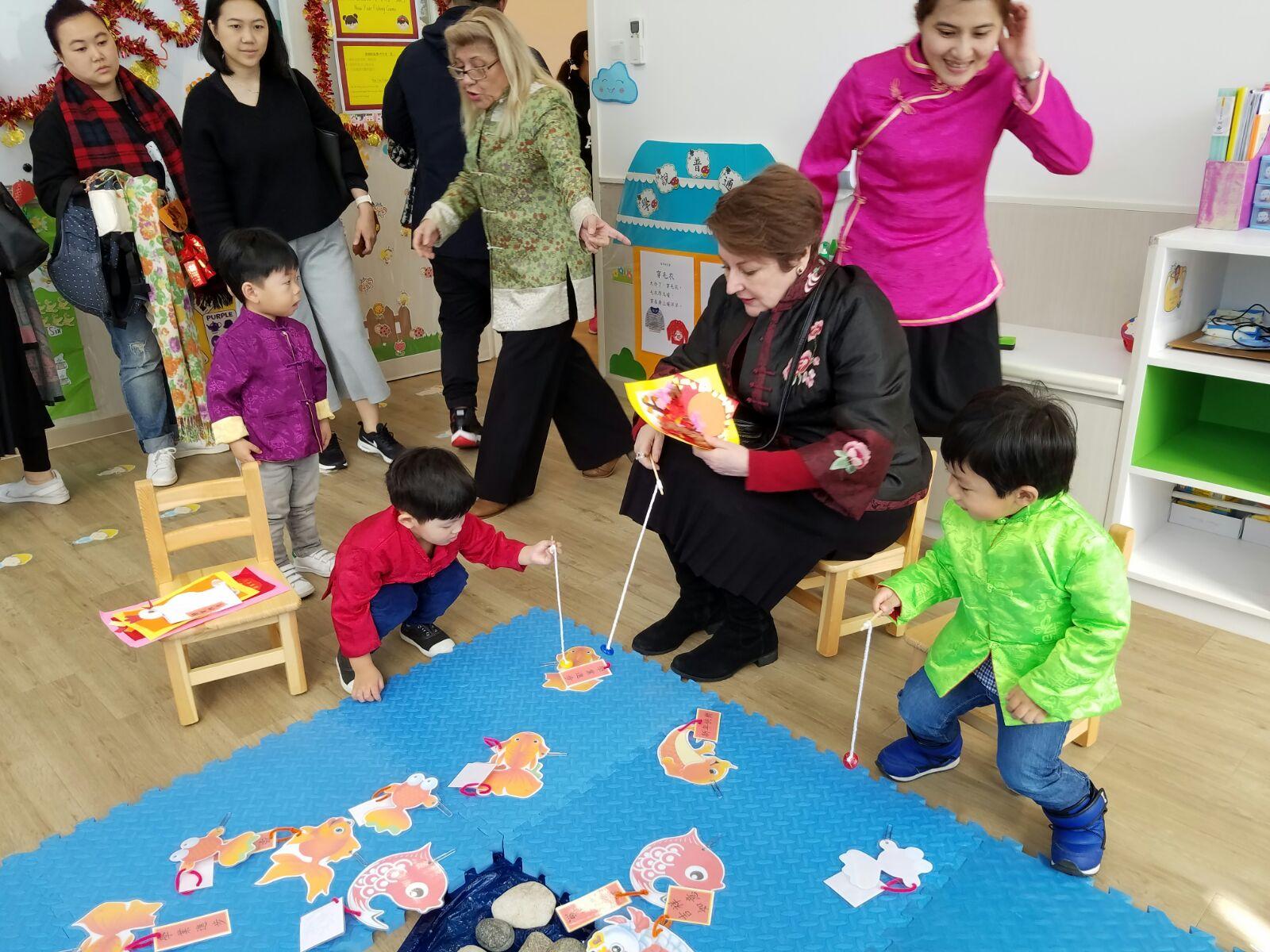 Kinder Garden: Chinese New Year Market 2017